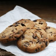 Guilt free chocolate chip cookies